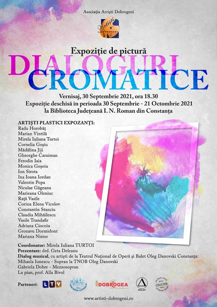 afis Dialoguri cromatice
