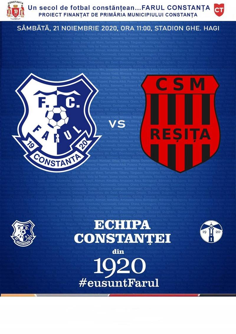 FC Farul Constanta vs CSM Resita 21.11.2020 1
