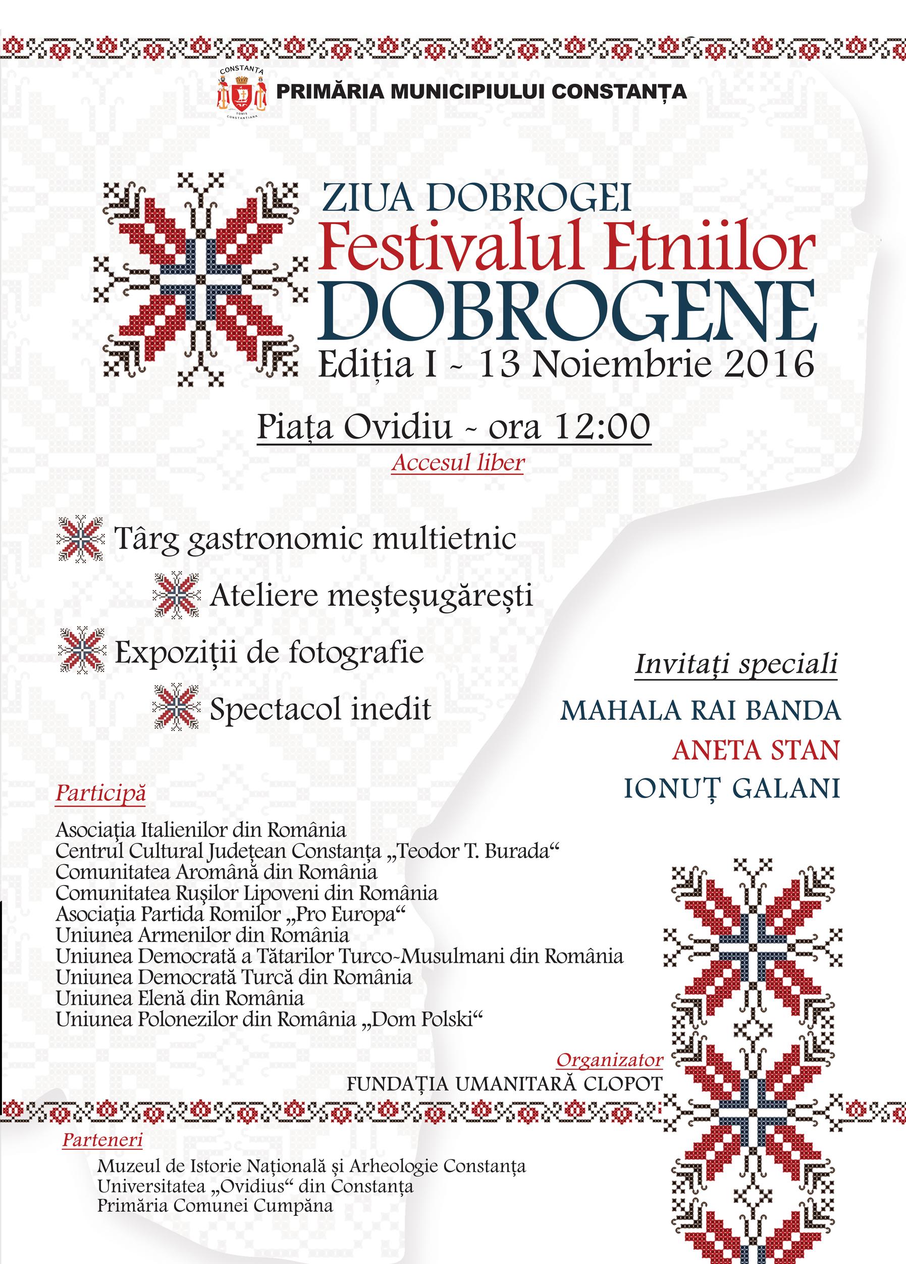 Festivalul Etniilor Dobrogene