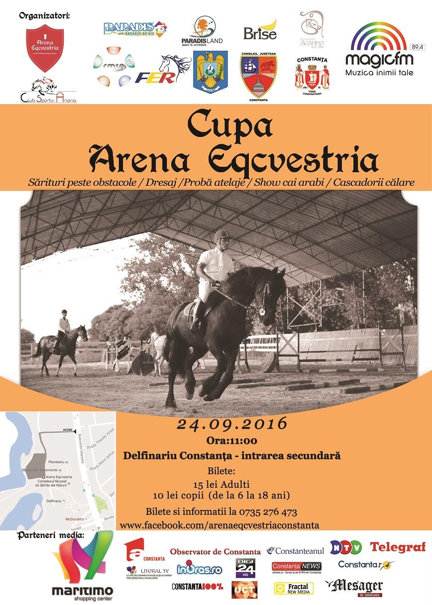 Afis Cupa Arena Ecvestria