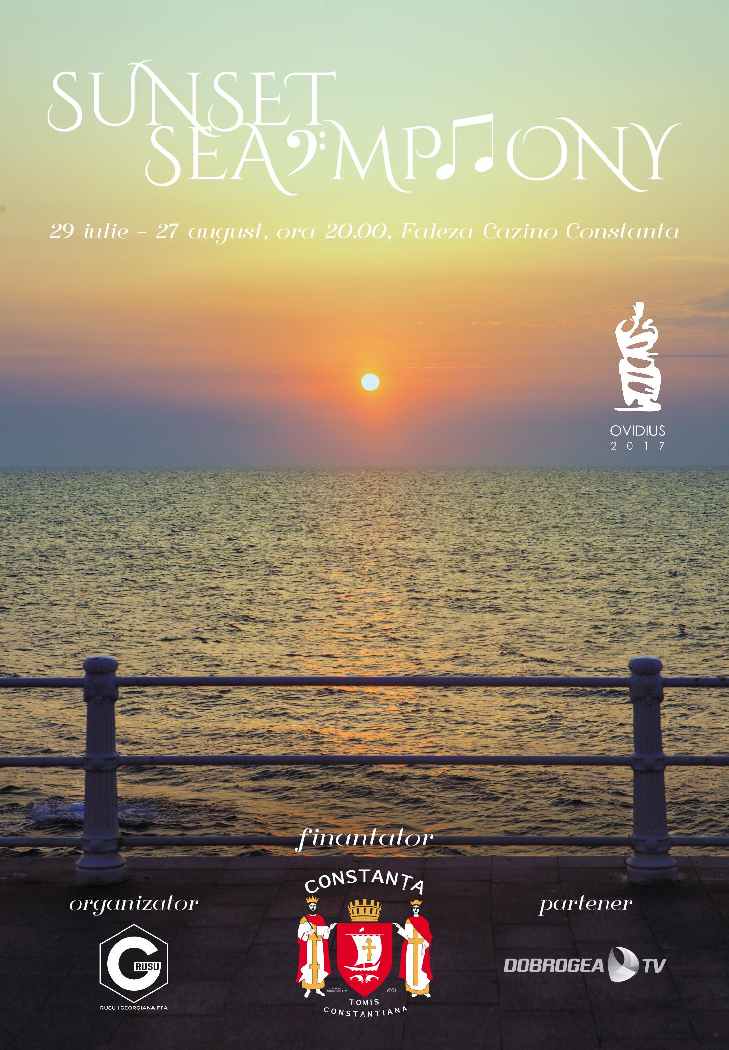 Afis sunset sea-mphony
