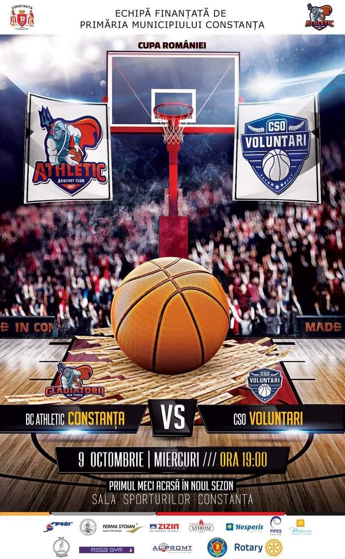 BC Athletic Constanta vs CSO Voluntari site