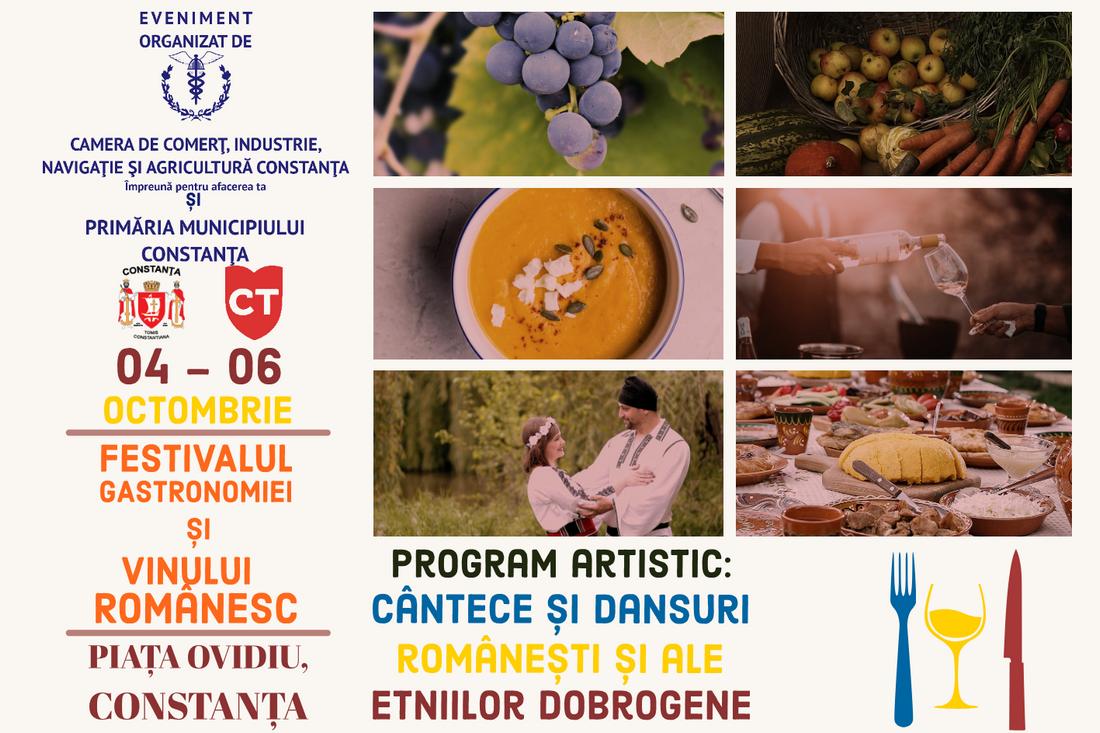 Festivalul Gastronomiei si Vinului Romanesc