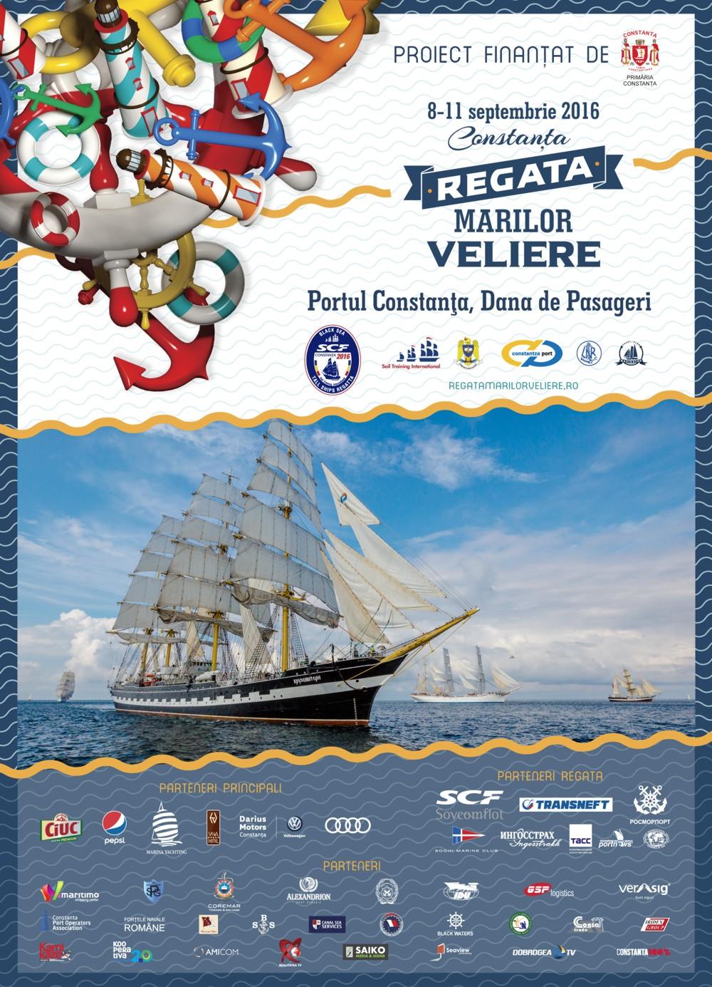 Poster regata cu navem