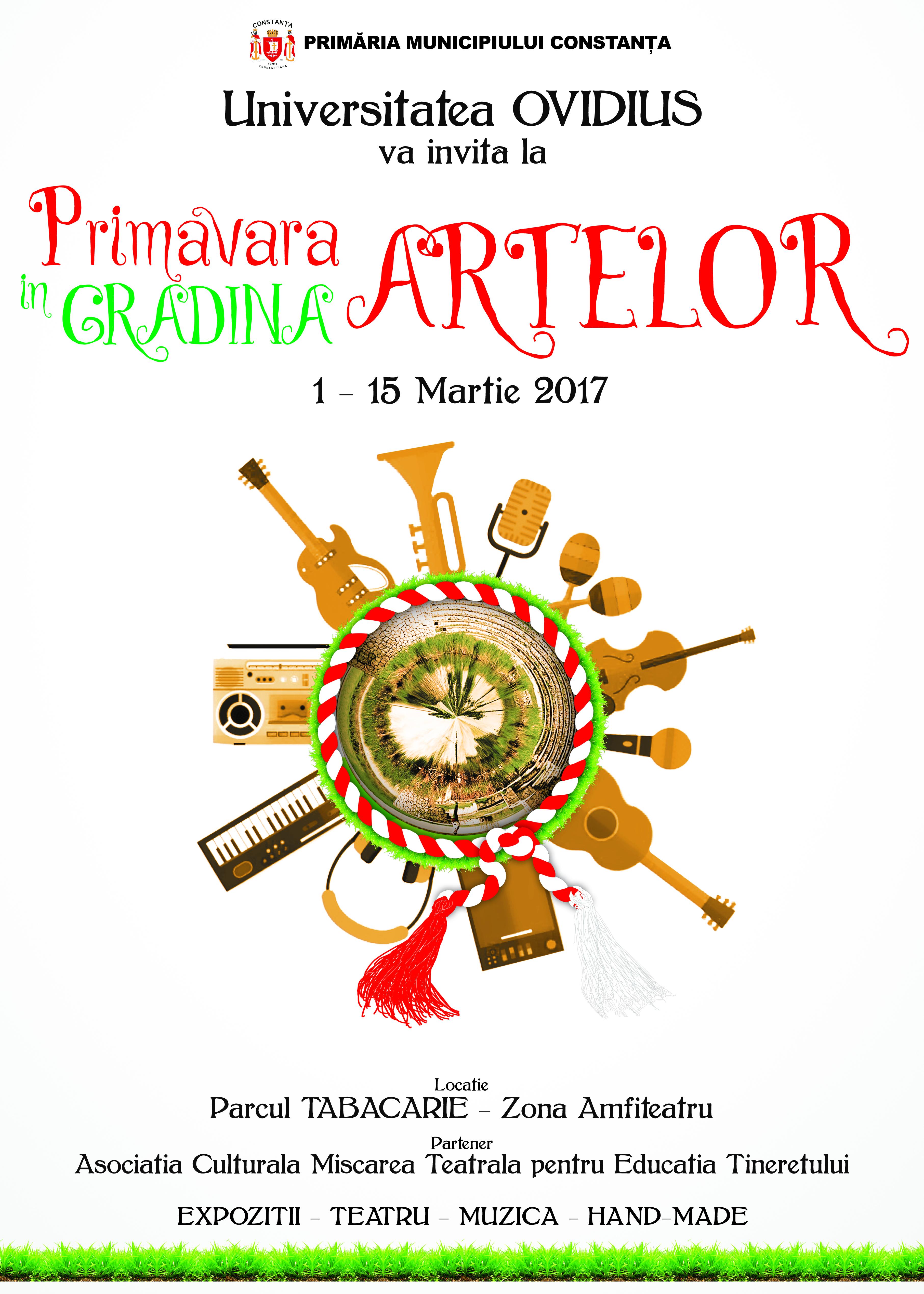 Afis PRIMAVARA ARTELOR 2017